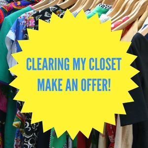 Other - Sale! Final deals on closet before donating!